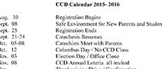 ccd-schedule