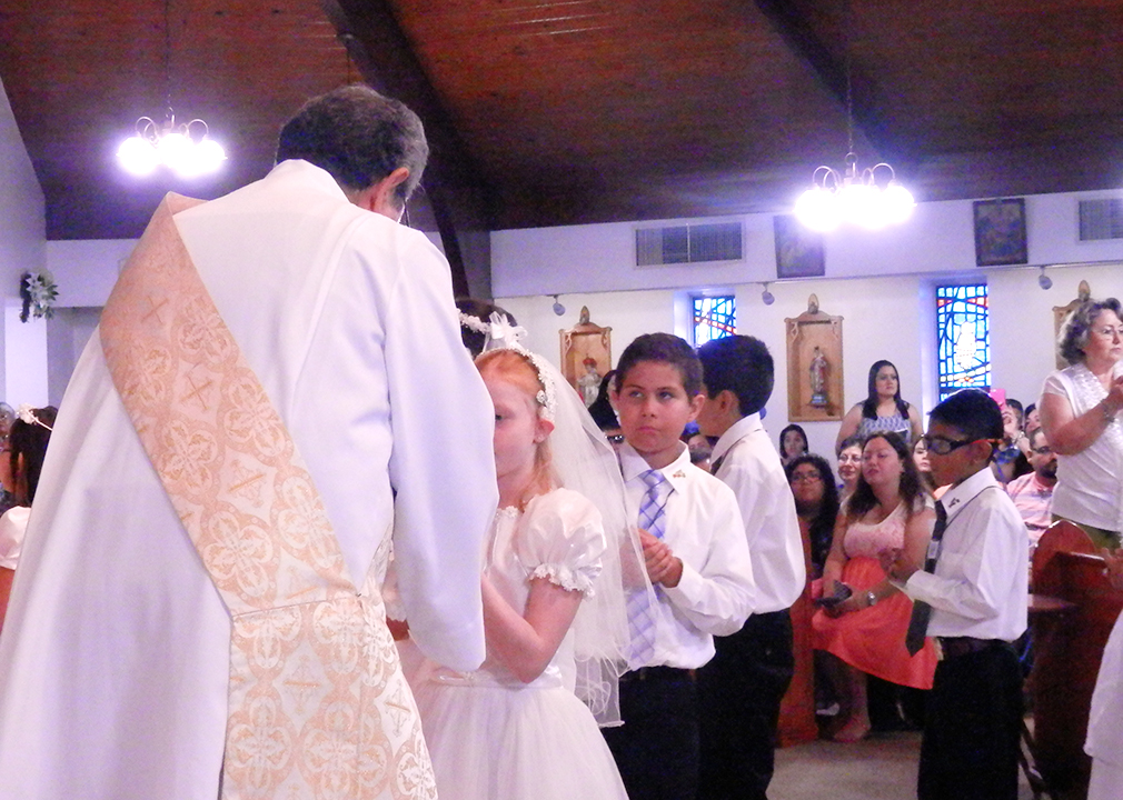 First Communion December 2014